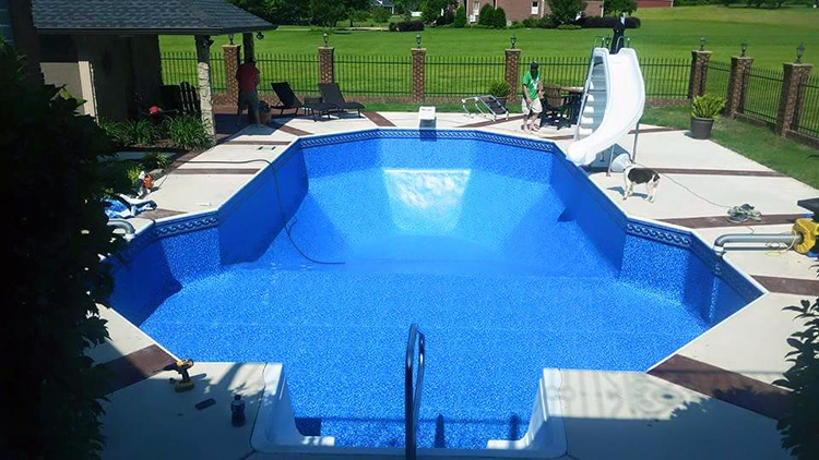Outer Banks Pool Vinyl Liner Replacement Services